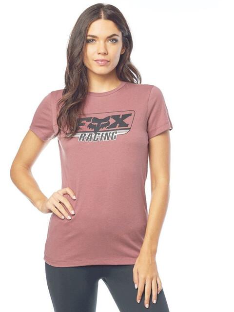 Fox Retro Fox T-Shirt Dames roze
